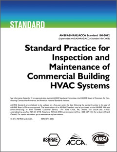 ANSI/ASHRAE/ACCA Standard 180-2012